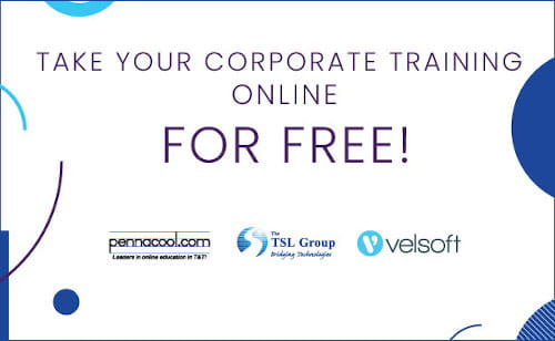 Pennacool.com and TSL are offering organizations to move their corporate training on-line for free main image