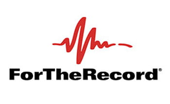 for the record logo